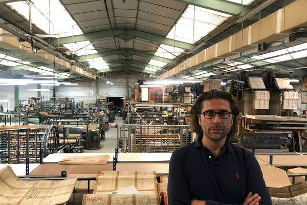 Arnaud Lebert, un jeune chef d'entreprise venu du monde de la publicité et de la communication.