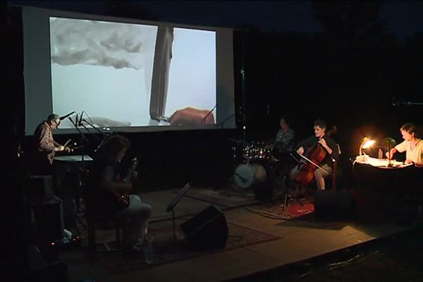 Le David Muris Quartet et Guillaume Trouillard, en pleine création artistique pour les Nuits Atypiques.