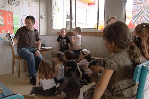 Une classe de Calandreta en Béarn