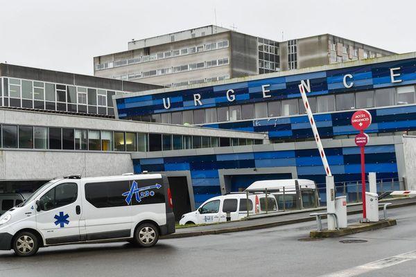 Service des urgences du CHU de Brest, centre hospitalier la Cavale Blanche