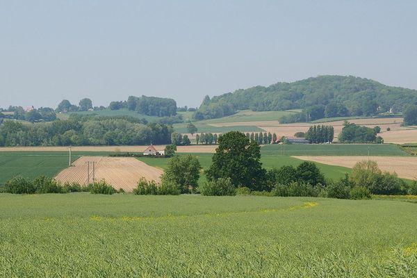 La vue sur les Flandres depuis Terdeghem