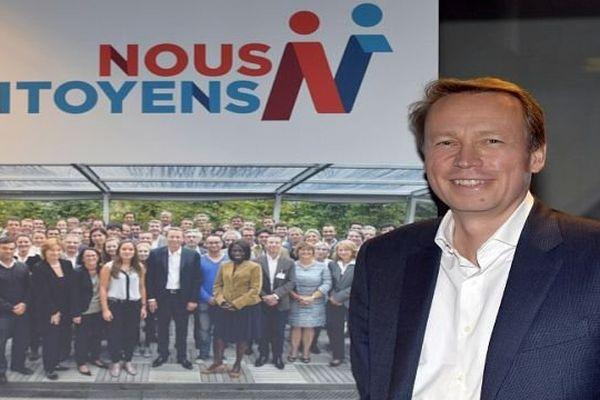 """Denis Payre - président de """"Nous Citoyens"""" - octobre 2013."""