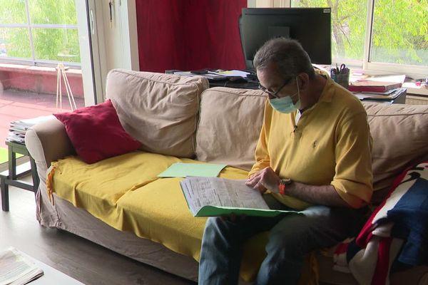 James, immunodéprimé, a reçu au Puy-en-Velay 3 doses de vaccin contre le COVID.