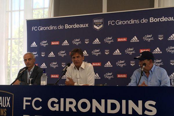 Alain Roche, Frédéric Longuépée et Jean-Luc Gasset