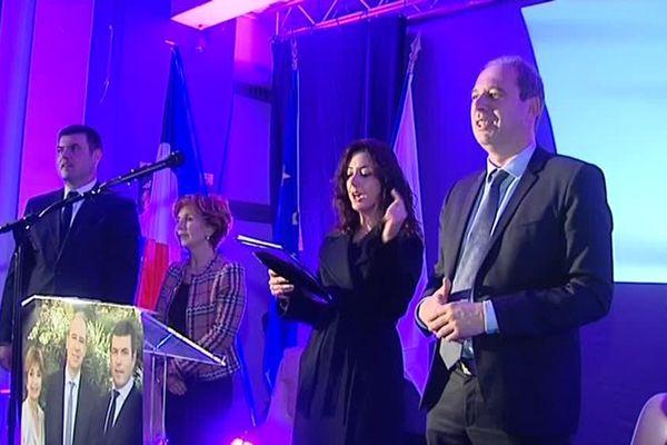 Jean Zuccarelli, lors d'un meeting de campagne des Territoriales 2015