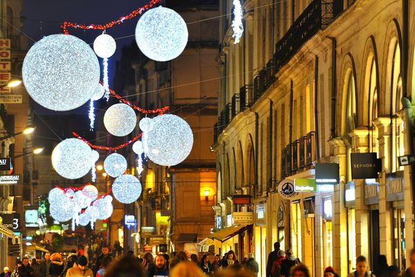 Le top départ des illuminations de Noël 2017 donné le 24 novembre à Nantes