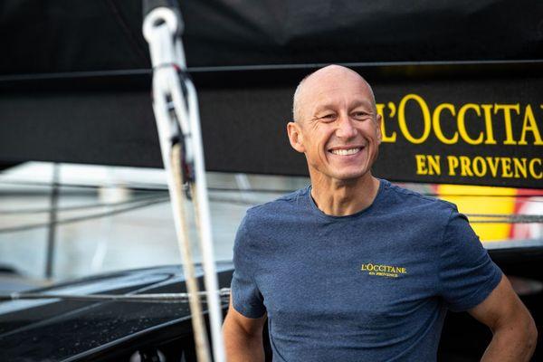 Armel Tripon, le skipper de L'Occitane en Provence