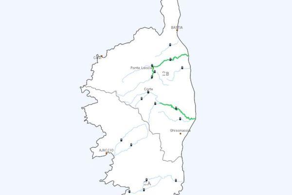 Deux fleuves corses ont été intégrés au dispositif vigilance crues depuis le 15 septembre 2020.