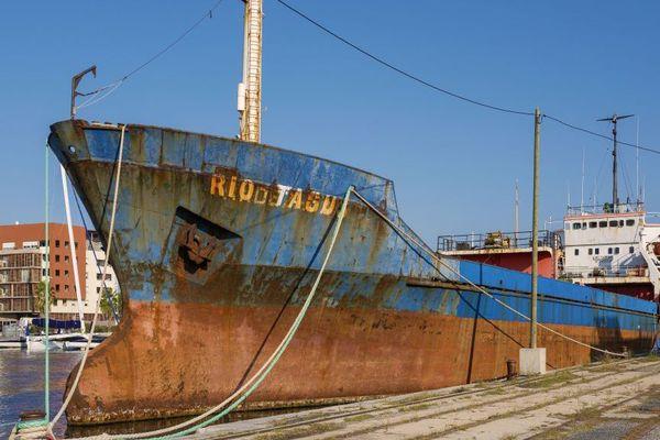 Le Rio Tagus à Sète depuis 2010.
