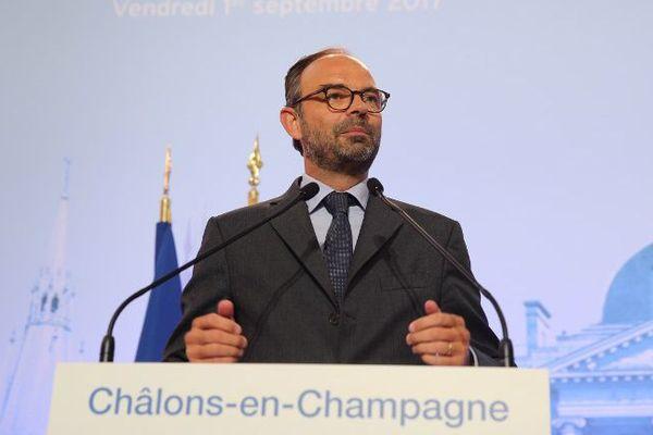 Edouard Philippe à la Foire de Châlons, le 1er septembre 2017