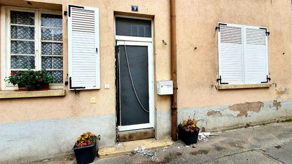 La maison de la mère deFoued Mohamed-Aggad, rue Neuve à Wissembourg.