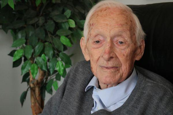 Hubert Faure, né en 1914 Membre du Commando Kieffer (Béret vert)