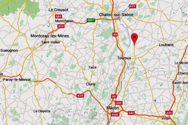 Un couple de personnes âgées, qui résidait à Simandre, un village de Saône-et-Loire,  s'est suicidé au monoxyde de carbone.