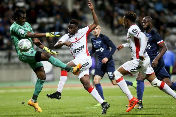 Le match Paris FC/Valenciennes, lors de la 12ème journée de Ligue 2, le 20 octobre, à Paris.