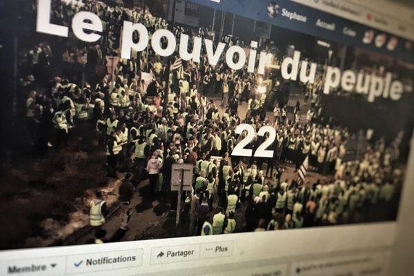Capture d'écran du groupe Facebook Le Pouvoir du Peuple 22