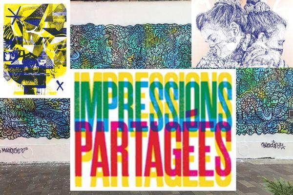 Le projet Impressions partagées met à l'honneur le street art dans six villes françaises, dont Mulhouse.
