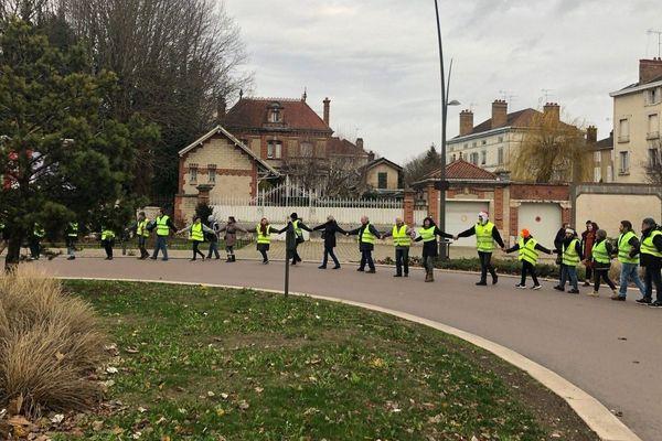 Manifestation des gilets jaunes - Troyes