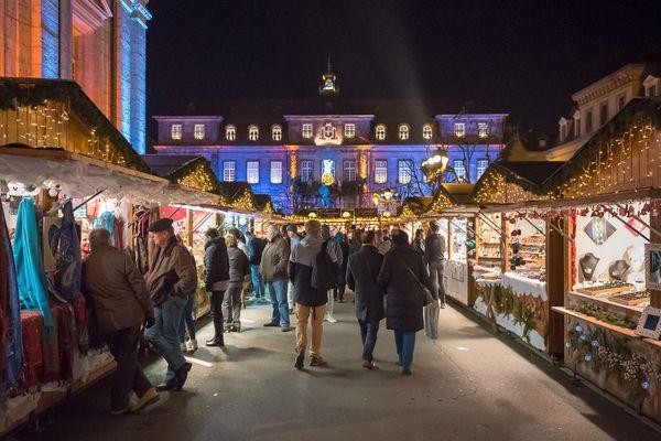 De nombreux stands de qualité sont installés au marché de Noël de Montbéliard.