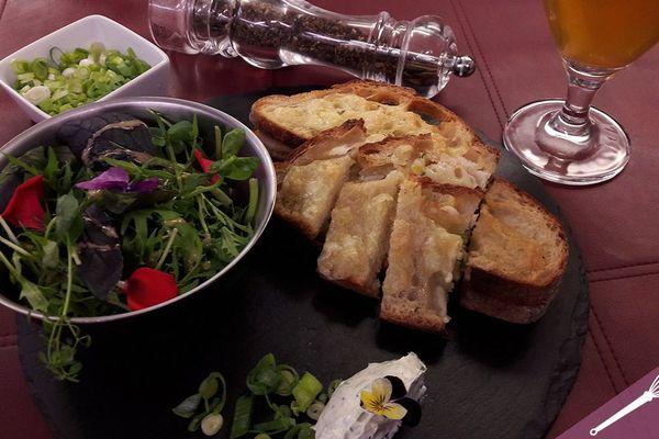 Les croques au haddock fumé et au fromage