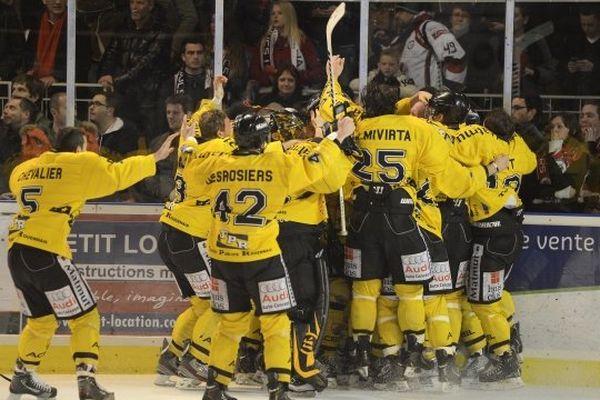 Le RHE lors de la victoire face à Angers.