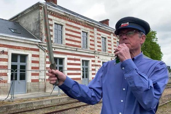 Jean-Philippe Vanwalleghem est l'heureux propriétaire de la gare de Pontivy