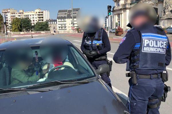 2 policiers lors d'un contrôle à Limoges