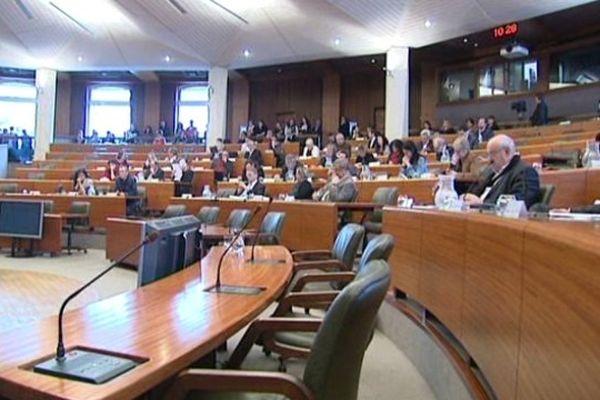 Session du conseil régional du Limousin (illustration)