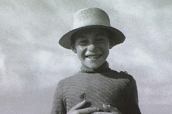 Jeune berger des monts d'Auvergne, vers 1950