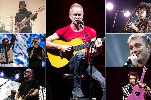 Twenty One Pilots, Black Eyed Peas, Pixies, Sting, LP, Vald et -M- au Main Square l'été prochain.