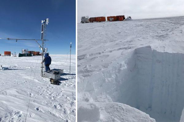 Des scientifiques grenoblois se sont rendus dans l'une des zones les plus inhospitalières de l'Antarctique.