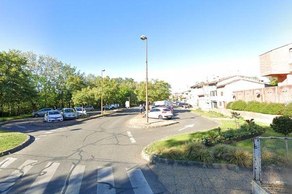 La victime a été retrouvée rue Castelvielh à Muret (capture d'écran)