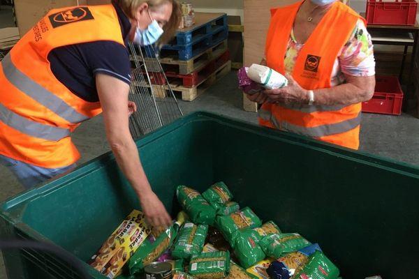 La collecte du week-end est primordiale pour la Banque Alimentaire dont les stocks s'amenuisent.