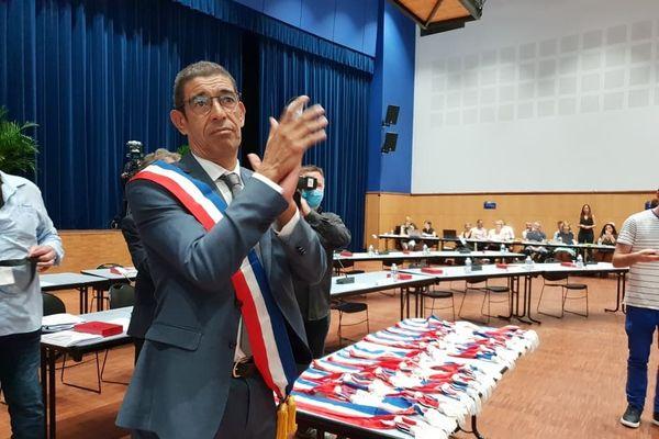 François Astorg est officiellement le nouveau maire d'Annecy.