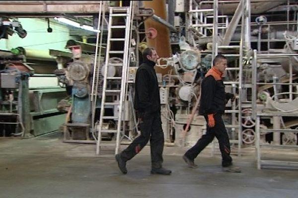 Des anciens salariés entretiennent les machines, au cas où...