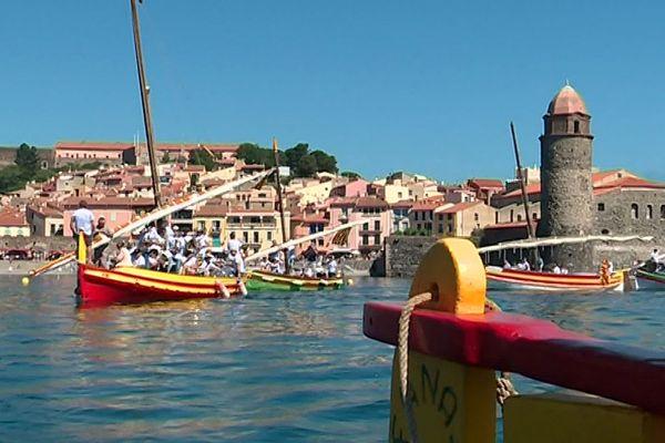 Collioure (Pyrénées-Orientales) - la cité de l'anchois - juin 2019.