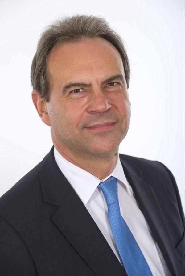 Guy Lefrand espère briguer un second mandat à la mairie d'Evreux.