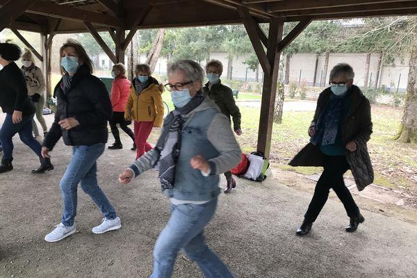 """Offre de savoir """"Danse en ligne"""" au Parc du Pot de fer à Saint-Cyr-sur-Loire"""