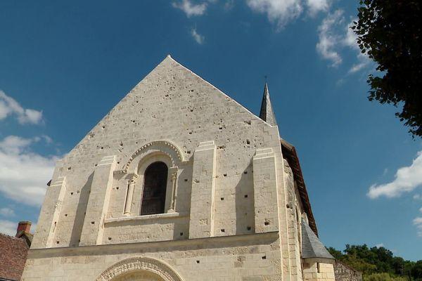 L'église tourangelle de la Celle-Guenand a été rénovée grâce au Loto du patrimoine 2019