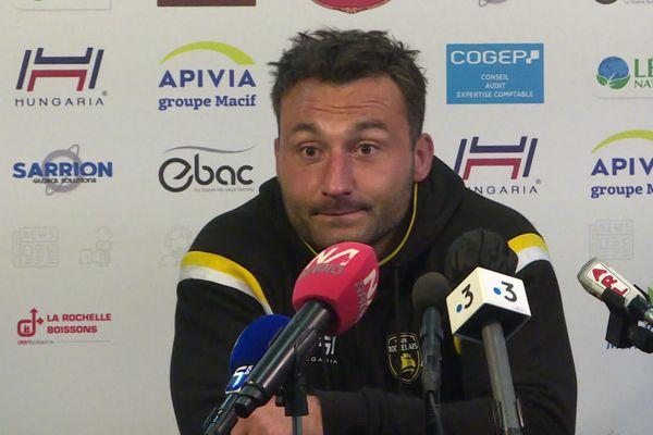 Jérémy Sinzelle regrette de ne pas avoir empoché un troisième bonus offensif d'affilé