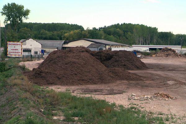 A l'origine de ces fortes odeurs, une entreprise installée sur un site de traitement des déchets.