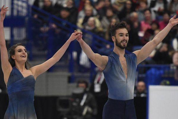 Gabriella Papadakis et Guillaume Cizeron sacrés champions d'Europe pour la troisième fois consécutive, à Ostrava en République Tchèque