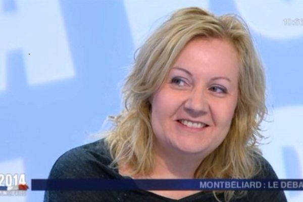 Sophie Montel, tête de liste du Front national