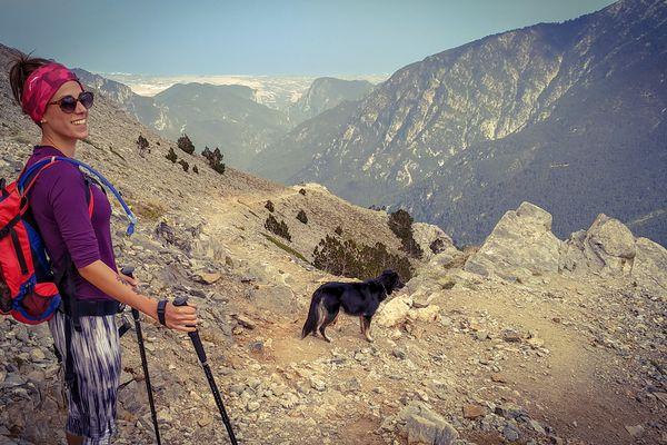 Marine Saugeon compte traverser, en huit à dix jours, les 55 sommets du mont Olympe.
