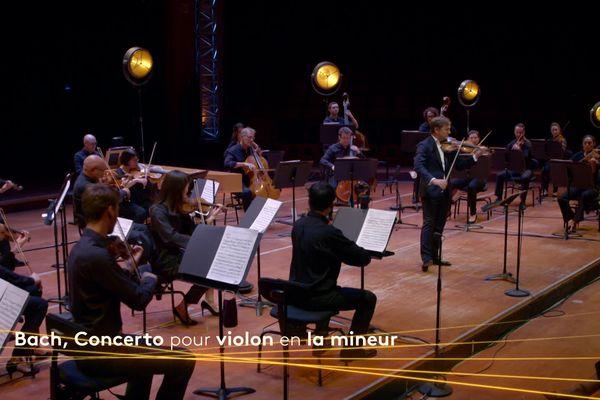 Bach déconfiné par l'Orchestre du Capitole de Toulouse avec Renaud Capuçon