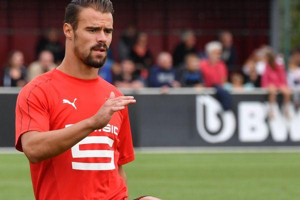 Transferts : le joueur de Rennes, Damien Da Silva signe pour deux ans à Lyon (image archives)