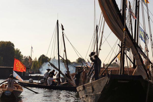 Le Festival de Loire, le plus grand rassemblement de marine fluviale