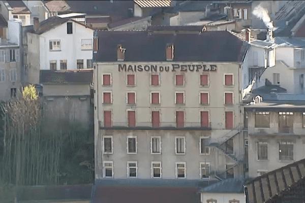 La Fraternelle, une institution au coeur de la cité de Saint-Claude (Jura)