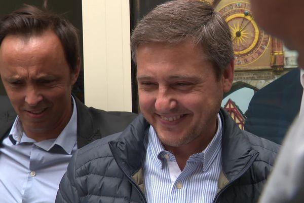 Crescent Marault, candidat de la droite et du centre, a créé la surprise en arrivant en tête des suffrages au 1er tour à Auxerre.