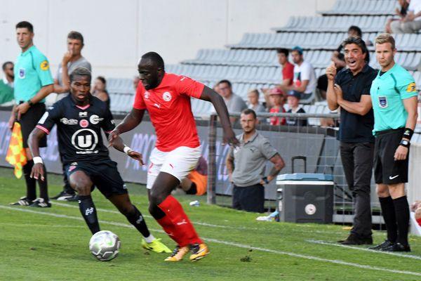 Nîmes - un Croco en duel avec Reims - 29 juillet 2017.