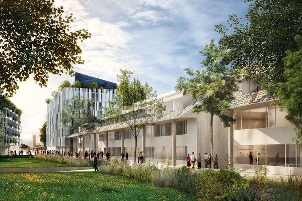C'est le projet de l'architecte Brigitte Metra qui a été retenu. Il devrait être livré en 2019.